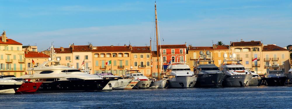 Nizza St Tropez satama