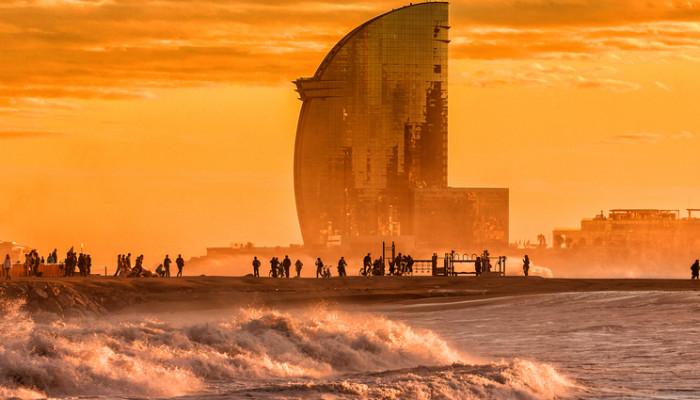 Barcelona – rantaelämää ja hullunkurista arkkitehtuuria