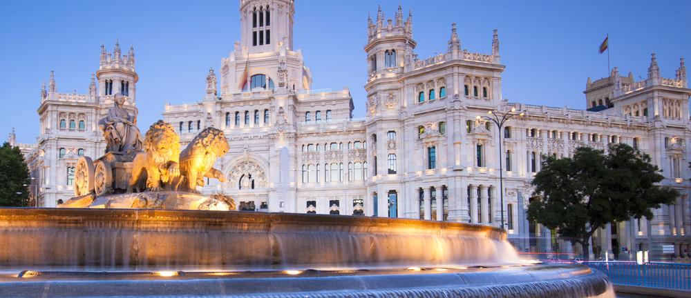 Madrid postitoimisto