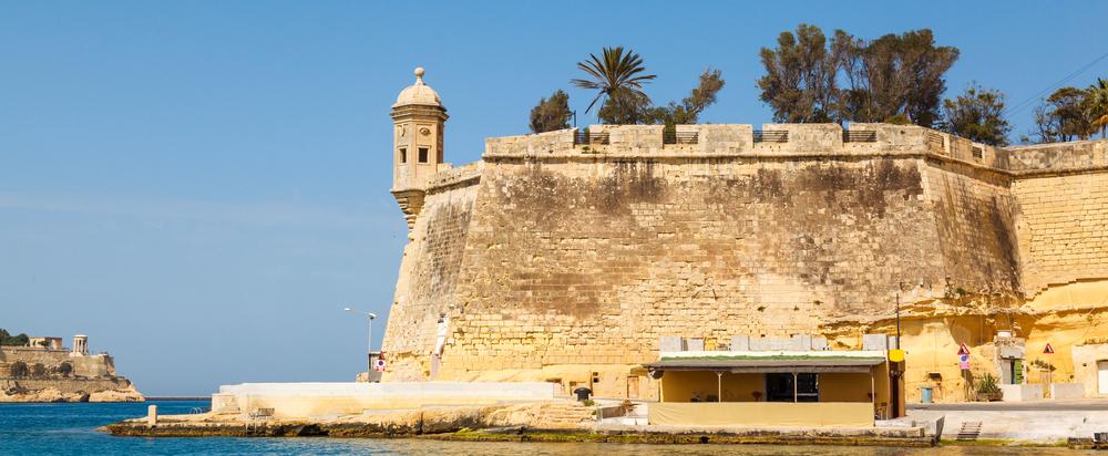Malta Vallettan satama