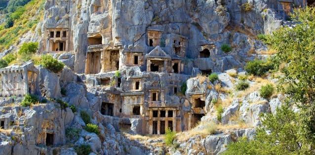 Turkki Hautakammioita