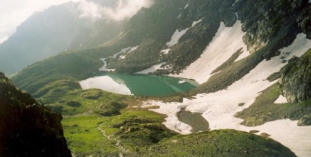 Turkki vuoristojärvi