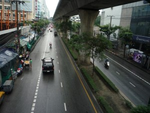 Liikennettä bangkokissa
